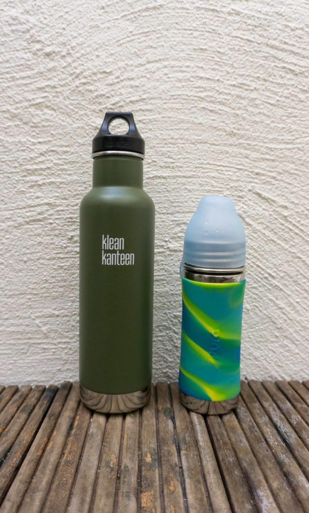 sustainable reusable bottle klean kanteen pura kiki